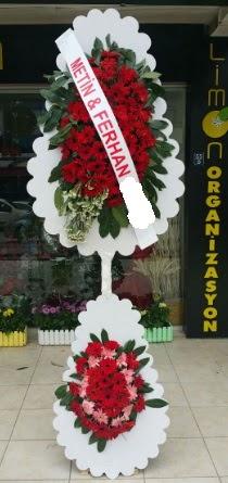 Çift katlı düğün nikah çiçeği modeli  Bilecik çiçekçi çiçek siparişi sitesi