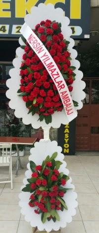 Çift katlı düğün nikah çiçeği modeli  Bilecik çiçekçi hediye çiçek yolla