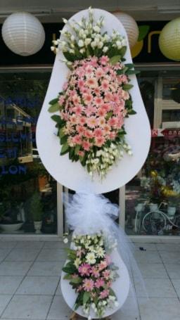 Çift katlı özel şahane sepet çiçeği  Bilecik çiçekçi çiçekçi telefonları