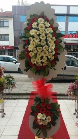 Çift katlı düğün açılış çiçeği  Bilecik çiçekçi çiçek satışı