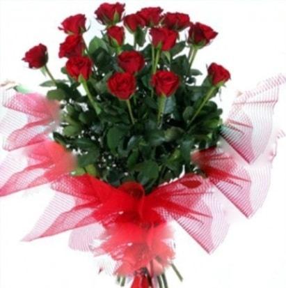15 adet kırmızı gül buketi  Bilecik çiçekçi cicek , cicekci