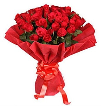 41 adet gülden görsel buket  Bilecik çiçekçi çiçek satışı