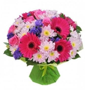 Karışık mevsim buketi mevsimsel buket  Bilecik çiçekçi çiçek satışı
