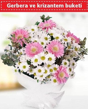 Papatya ve Gerbera Buketi  Bilecik çiçekçi çiçek , çiçekçi , çiçekçilik