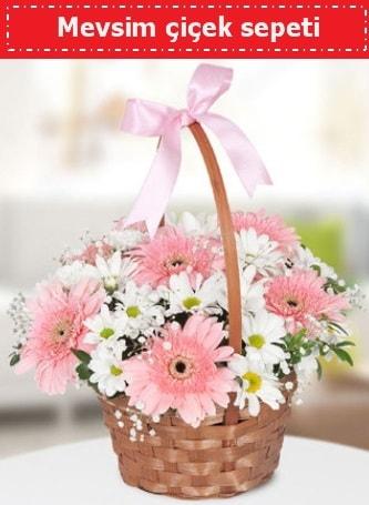 Mevsim kır çiçek sepeti  Bilecik çiçekçi çiçek , çiçekçi , çiçekçilik