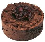 4 Kişilik çikolatalı yaş pasta